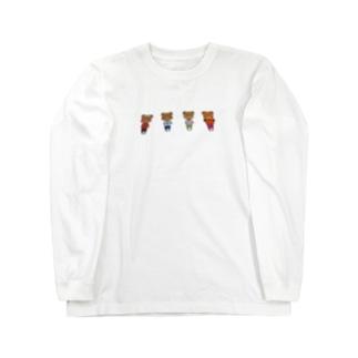 くまちゃん Long sleeve T-shirts