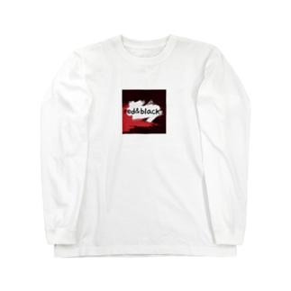 red&black Long sleeve T-shirts