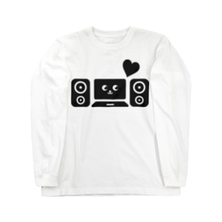 DTM音楽制作(黒) Long sleeve T-shirts
