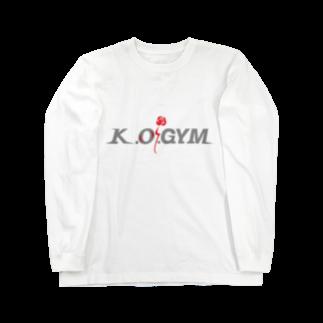 K.O.GYMのK.O.GYM Long sleeve T-shirts