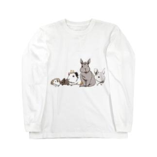 小動物ランド Long sleeve T-shirts