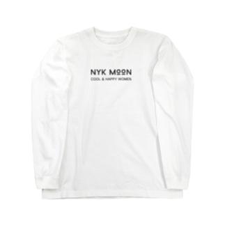 NYK MOON logo Long sleeve T-shirts