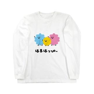 はまはっぴー Long sleeve T-shirts
