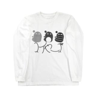 スイヤーズ(モノクロ) Long sleeve T-shirts