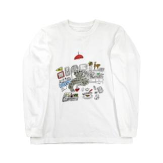 実家 Long sleeve T-shirts