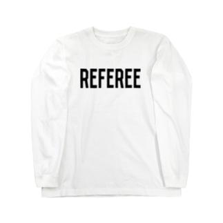 REFEREE レフェリーロゴ Long sleeve T-shirts