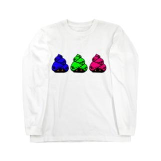 田螺 Long sleeve T-shirts