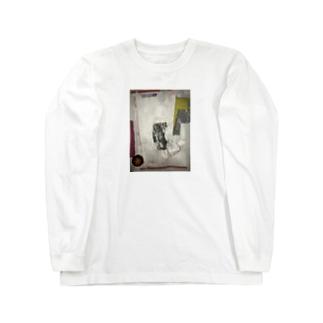 封筒の中からおっさん Long sleeve T-shirts