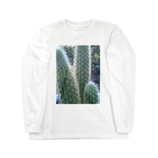 サボちゃん Long sleeve T-shirts