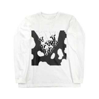 WILDMONKEYのギュウギュウ爪 Long sleeve T-shirts