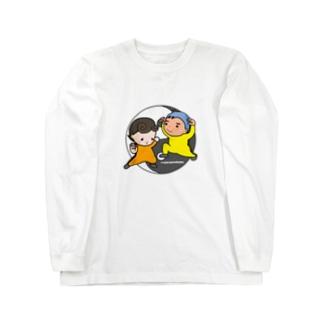 考えるな☆感じろ Long sleeve T-shirts