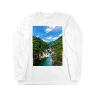 龍王峡1 Long sleeve T-shirts