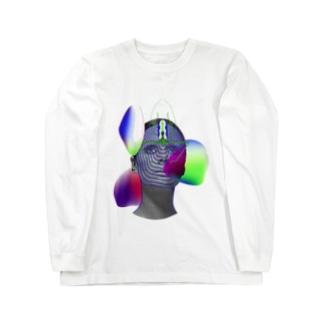 GRADIENTS Long sleeve T-shirts