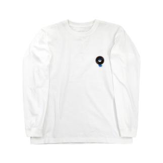 レコードリ月夜(ワンポイント) -Left Walk Long sleeve T-shirts