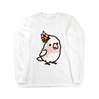 Chubby Bird クルマサカオウム Long sleeve T-shirts