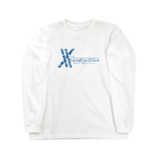 logo arrange camo blue Long sleeve T-shirts