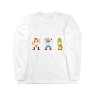 マスクマンズ Long sleeve T-shirts