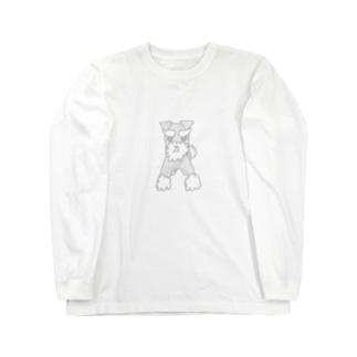 ミニシュナのロサ(カラーバージョン) Long sleeve T-shirts