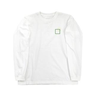シンプルに四角でデザッちゃったよ! Long Sleeve T-Shirt