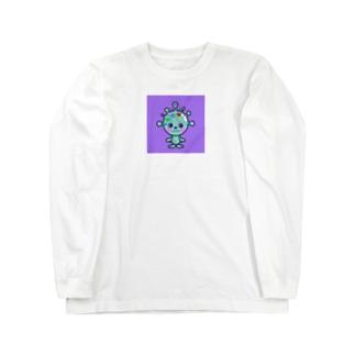 カビポップ Long sleeve T-shirts