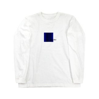 Deep Blue Long sleeve T-shirts