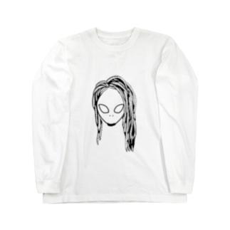 エイリアン Long sleeve T-shirts