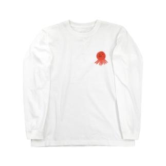 たこさん Long sleeve T-shirts
