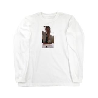 イケてるスリスリくん Long sleeve T-shirts