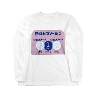 ロヒプノール Long sleeve T-shirts