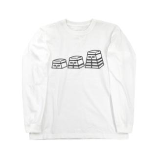 跳び箱 Long sleeve T-shirts