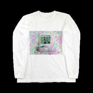 niuniunyuの¿インターネットにありましたか¿ Long sleeve T-shirts