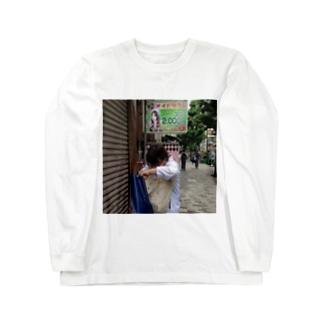 新宿三丁目のももぱいシリーズ Long sleeve T-shirts