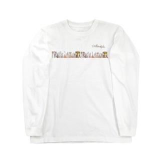 Pallete&Labo屋号オリジナルグッズ 横形 Long sleeve T-shirts