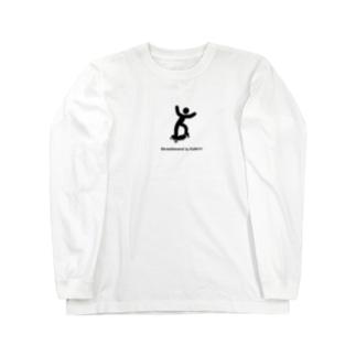 STBは楽しむものです。 Long sleeve T-shirts