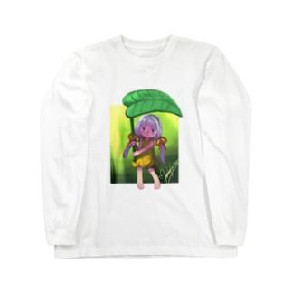 ヒカリノアメ Long sleeve T-shirts
