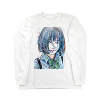青い風 Long sleeve T-shirts