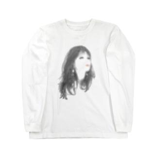 遠目美人 Long sleeve T-shirts