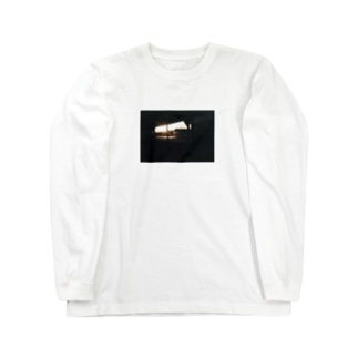 駐輪場(夕日)T Long sleeve T-shirts