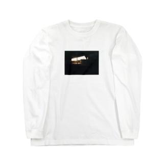 結希の駐輪場(夕日)T Long sleeve T-shirts