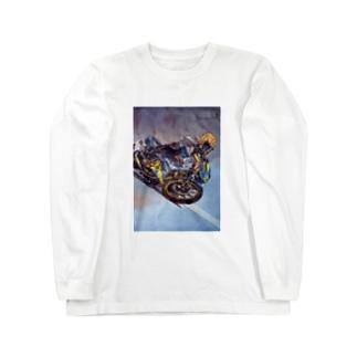 レーシング魂 Long sleeve T-shirts