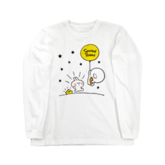 Spoiled Rabbit - Balloon / あまえんぼうさちゃん - 風船 Long sleeve T-shirts