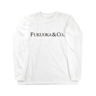 福岡シティTシャツ(カンパニー)  Long sleeve T-shirts