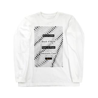 BTCFORK Long sleeve T-shirts