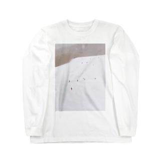 雪景色 Long sleeve T-shirts