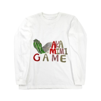AKAMIMIGAME Long sleeve T-shirts