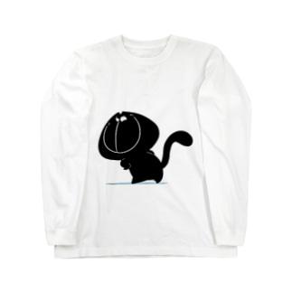 ミャオモック Long sleeve T-shirts