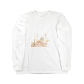 tea time Long sleeve T-shirts