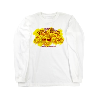 YELLOW JUNKIE「Afternoon Tea」 Long sleeve T-shirts