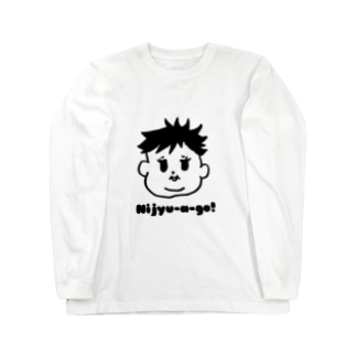 Nijyu-a -go!多毛girl Long sleeve T-shirts