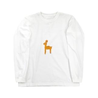 子じかのペルリン Long sleeve T-shirts